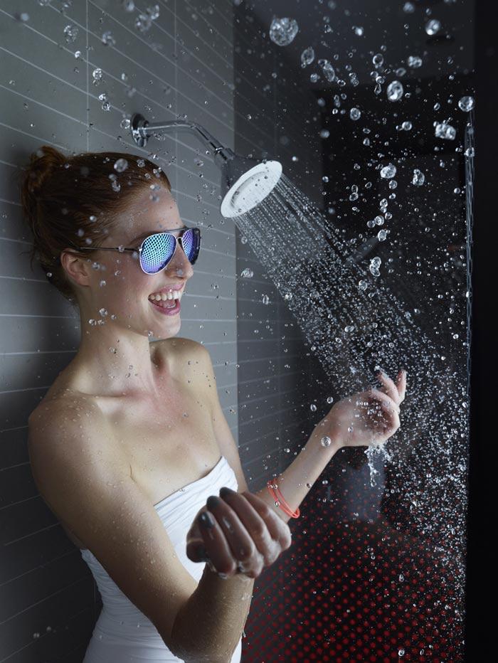 Moxie Showerhead Wireless Speaker by Kohler Commercial