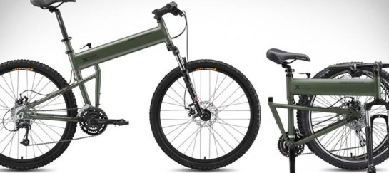 PARATROOPER FOLDING BICYCLE | BY MONTAGUE