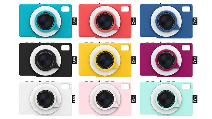 Different colors of theQ Camera by theQ