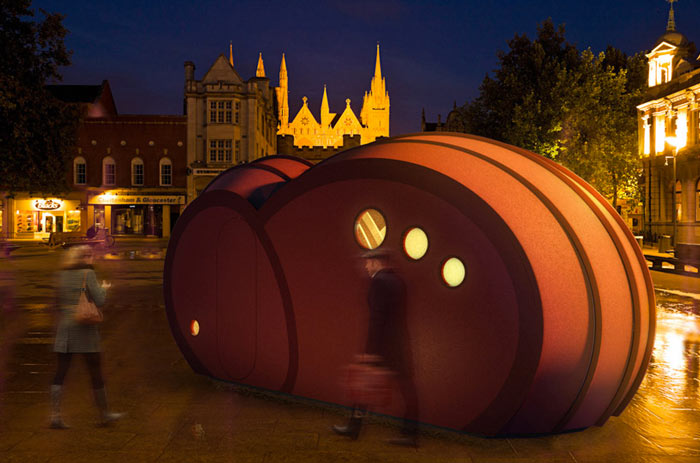 Shelter ByGG Portable Accommodation by Gabriela Gomes