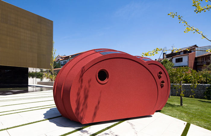 Architecture of Shelter ByGG Portable Accommodation by Gabriela Gomes