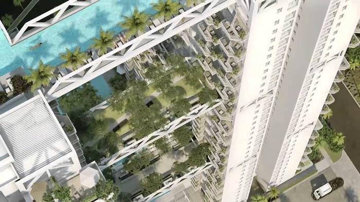 Sky Habitat Condominium In Singapore By Safdie Architects