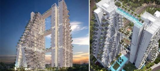 SKY HABITAT CONDOMINIUM IN SINGAPORE | BY SAFDIE ARCHITECTS
