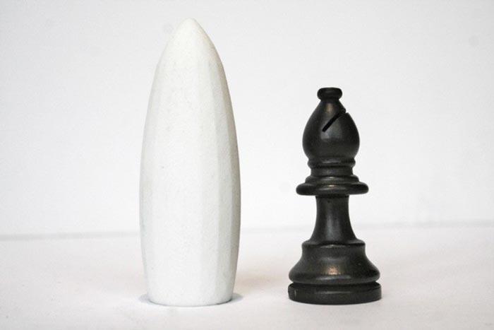 Skyline Chess Set piece and landmark