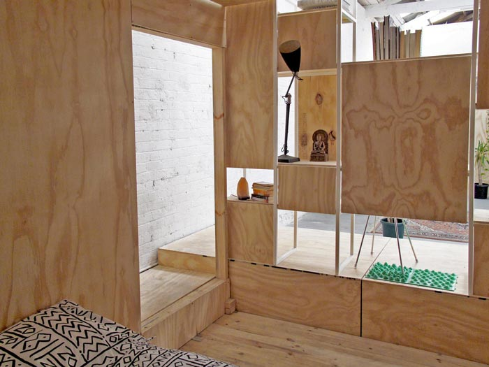 Interior design of the Sleeping Pods by Sibling Nation