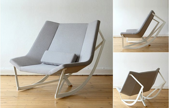 sway rocking chair by markus krauss
