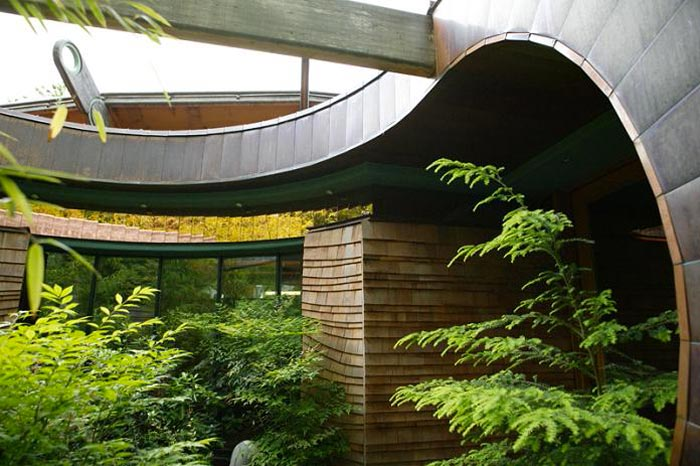 Exterior of the Treehouse Mansion in Portland, Oregon by Robert Harvey Oshatz