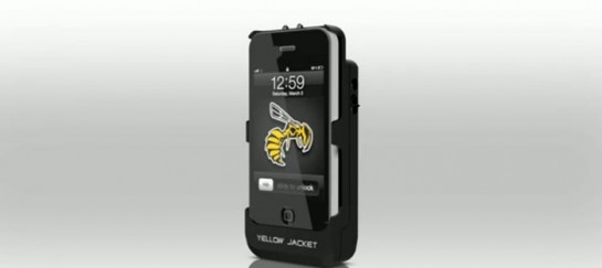 IPHONE STUN GUN CASE AND CHARGER | YELLOW JACKET