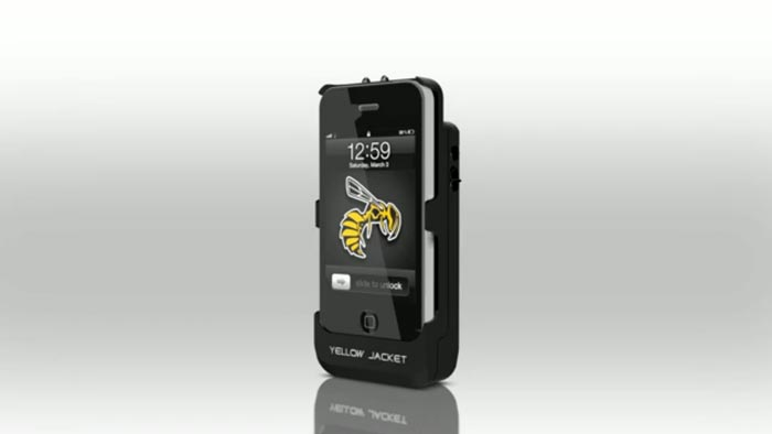 iPhone Stun Gun Case and Emergency Charger by Yellow Jacket