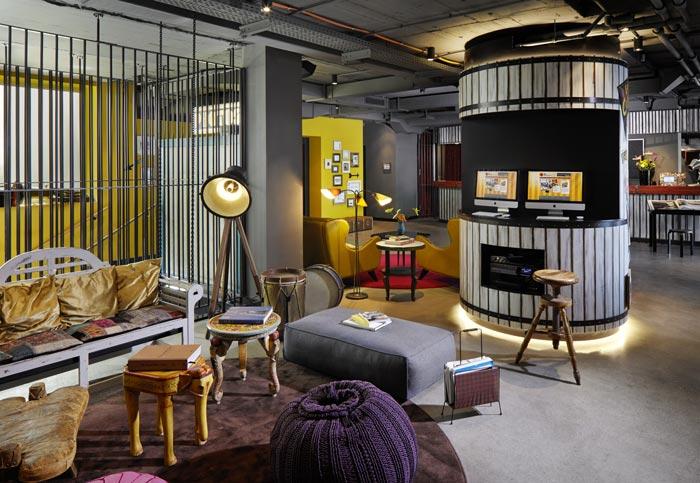 25 hours wien hotel for Interior design wien