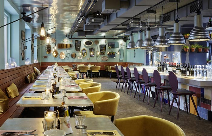 1500 Foodmakers Restaurant at 25hours Hotel Wien at MuseumsQuartier in Vienna