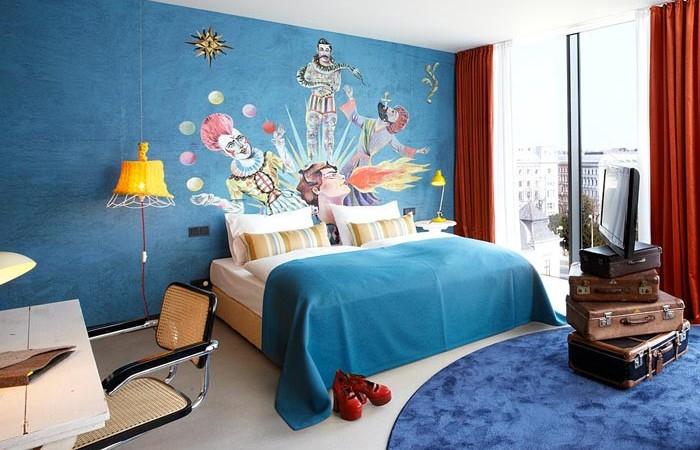 Room design at 25hours Hotel Wien Vienna