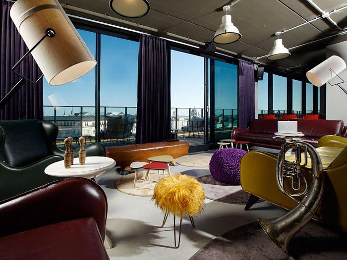 Dachboden at 25hours Hotel in Wien Vienna
