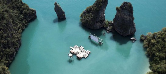 ARCHIPELAGO CINEMA | FLOATING CINEMA IN THAILAND