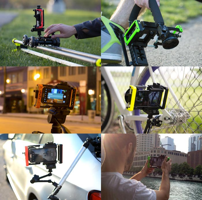 Many uses of the Beastgrip Lens Adpter