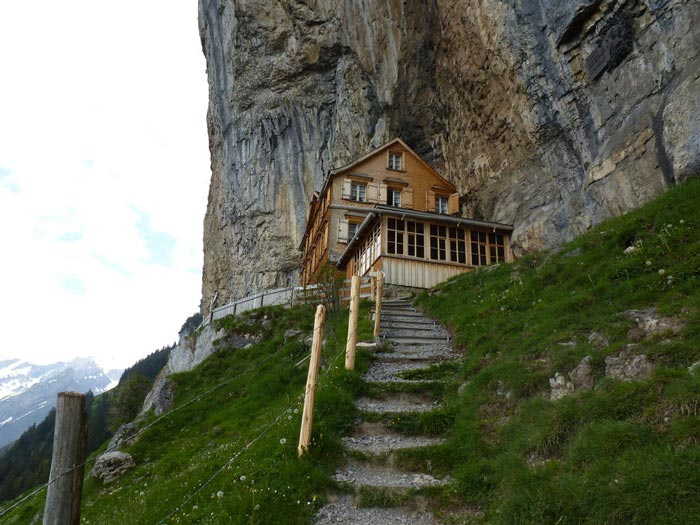 Swiss Mountain House berggasthaus aescher | mountain guest house in the swiss alps