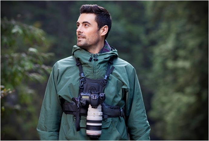 Camera Carrying Vest System By Cotton Carrier