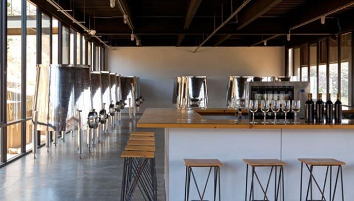 Dining area at ENCUENTRO GUADALUPE ANTIRESORT IN BAJA CALIFORNIA