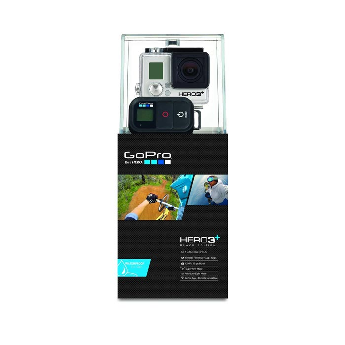 Packaging of the GoPro Hero3+ HD Action Camera