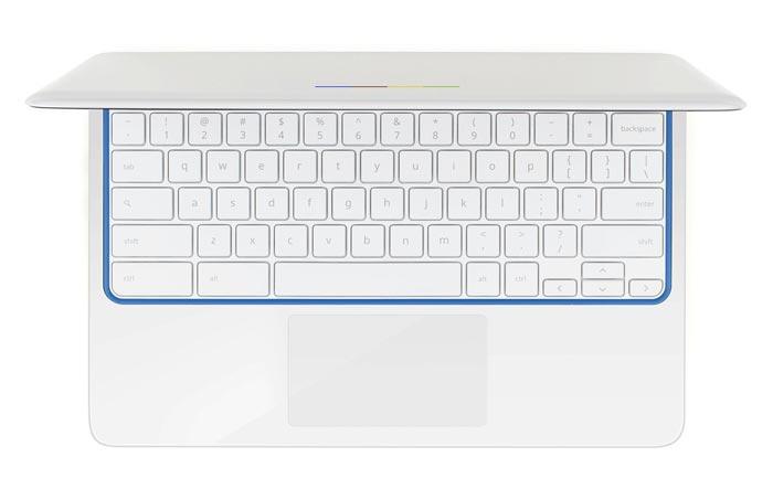 Keyboard of the HP Chromebook 11