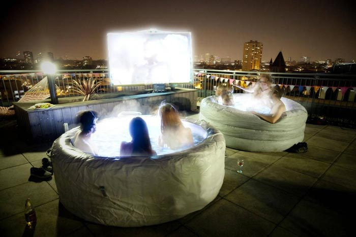 Rooftop movies london