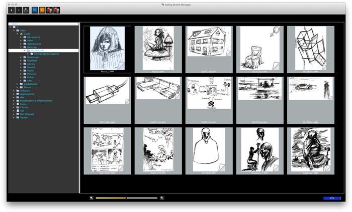 Inkling Wacom Digital Sketch Pen Software computer application