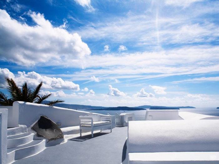 Katikies Hotel in Santorini