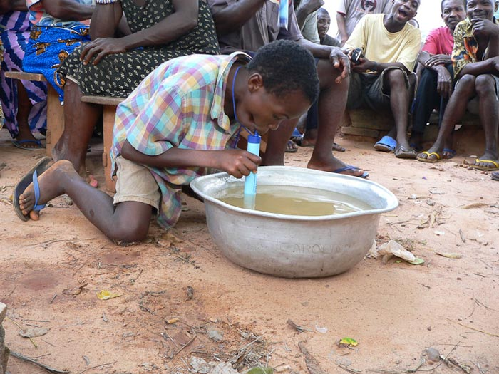 Lifestraw Portable Water Filtration System