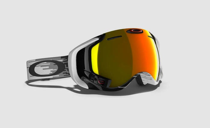 Hyperdrive/Fire Iridium Oakley Airwave 1.5 Goggle