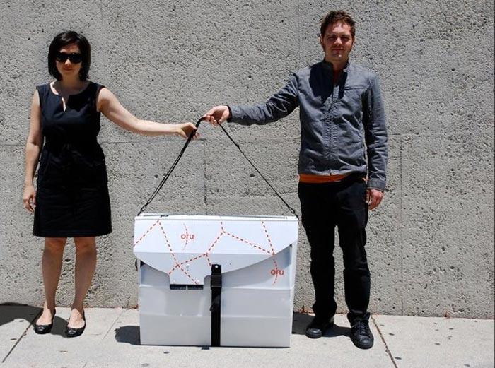 Compact and portable Oru Kayak - A Portable Origami Folding Boat