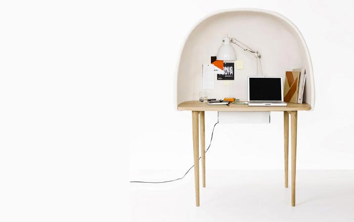 Rewrite Desk by GamFratesi and Ligne-Roset Jebiga
