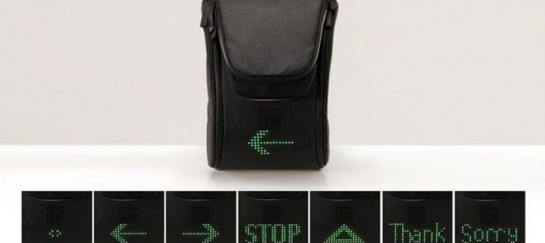 SEIL BAG | LED EQUIPPED BACKPACK FOR CYCLISTS