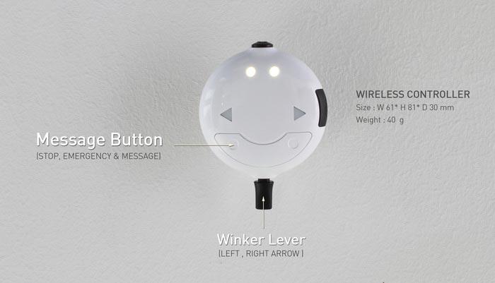 Wireless controller of the SEIL Bag