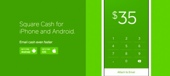 SQUARE CASH | FREE SERVICE TO SEND/RECEIVE MONEY WITH EMAIL