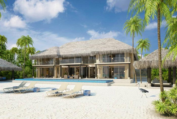 Velaa Private Island Resort in The Maldives