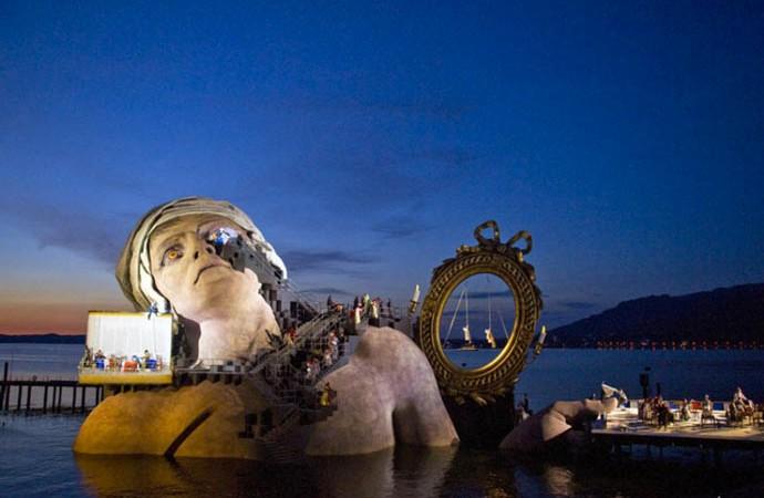 Bregenz Austria  City new picture : BREGENZ FESTIVAL AT LAKE KONSTANZ, AUSTRIA