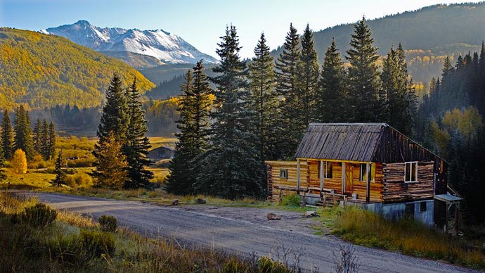 Dunton Hot Springs Resort in Colorado