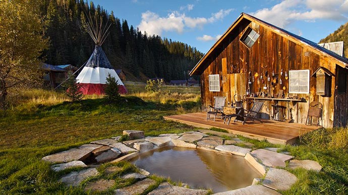 Dunton Hot Springs Resort in Colorado 8