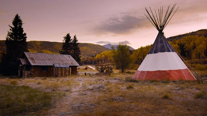 Teepee at Dunton Hot Spring Resort
