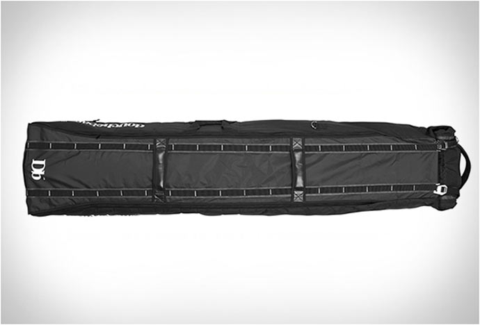 Top view of the Douchebag Ski and Snowboard Bag