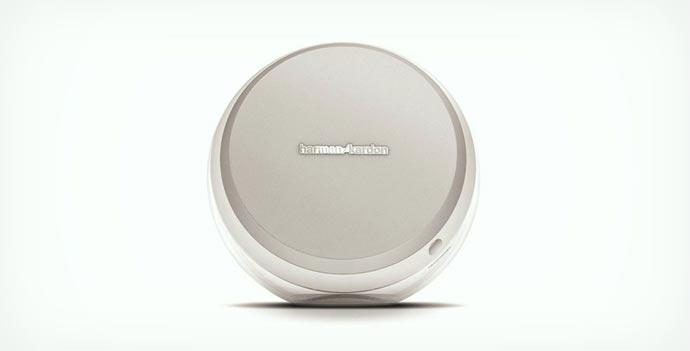 White Harman Kardon Nova Wireless Stereo Speaker