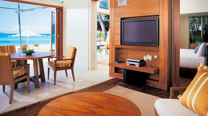 Room design at HAYMAN ISLAND RESORT in AUSTRALIA