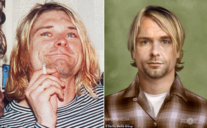 Kurt Cobain - How Would he Look if Alive
