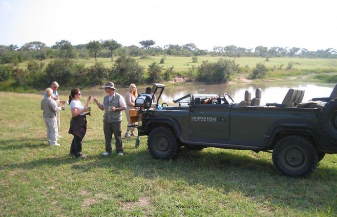 Safari tour at Leopard Hills Sabi Sand Game Reserve