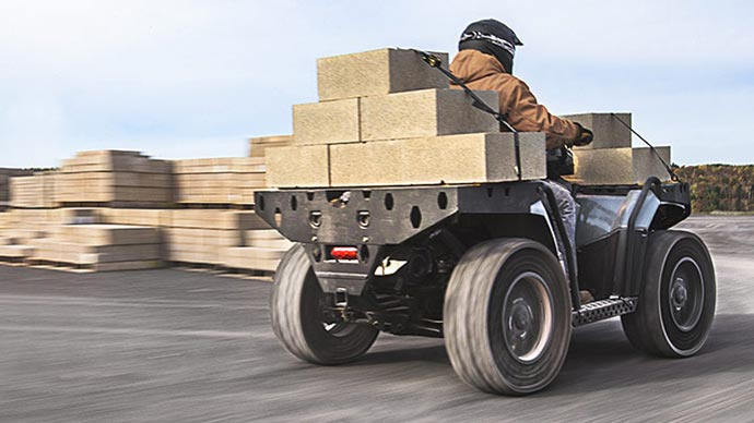 Polaris Sportsman WV850 H.O ATV 4