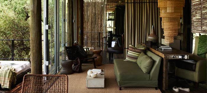 Interior Design At Singita Sweni Lodge In South Africa