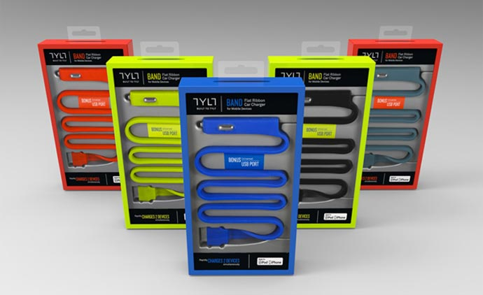 TYLT Micro USB Band Car Charger 8