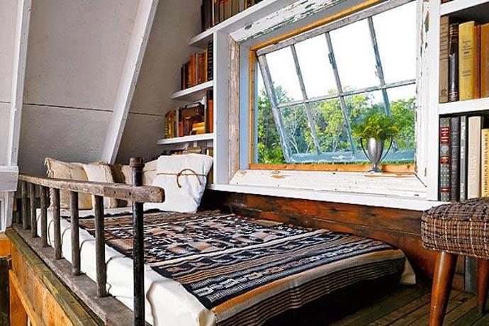 Interior design of a room at Wandawega Lake Resort