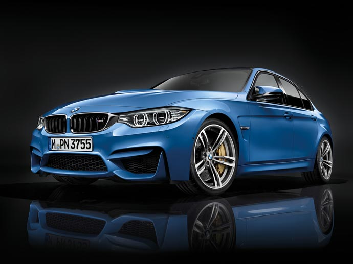 Front of the 2015 BMW M3