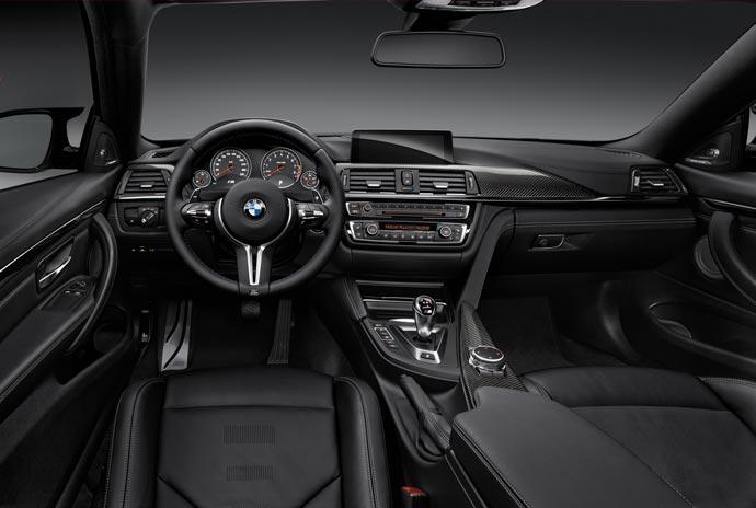 Interior of the 2015 BMW M1